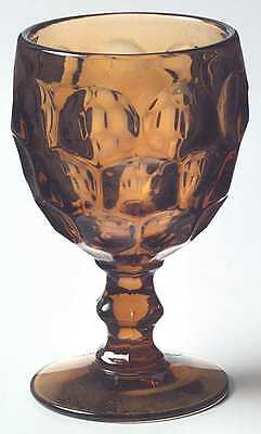 Imperial Glass Ohio PROVINCIAL AMBER Water Goblet 237617