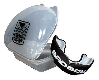 Bad Boy Pro Series Mouth Guard/Gumshield - Boxing Protection (Black)