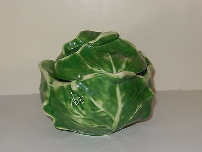 Vintage Holland Mold Cabbage Bowl With Lid