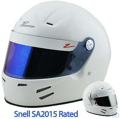 ZAMP - FSA-3 SA2015 Auto Racing Helmet - HANS Ready - Snell Rated - Full Face +