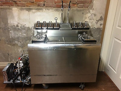 Bastian Blessing Antique/Vintage Ice Cream Soda Fountain - WORKING Mobile Unit