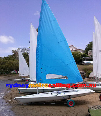 WHITE Radial 5.7 training sail for Laser sailing dinghy sail boat latest design
