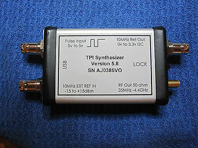 RF Signal Generator 35MHz to 4.4GHz via USB +16dBm Plus Features 1600 units sold