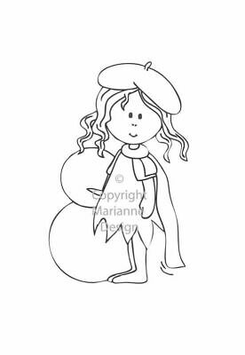 Marianne Design Clear Stempel fairy betty winter