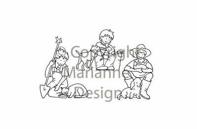 Marianne Design Clear Stamps Boy