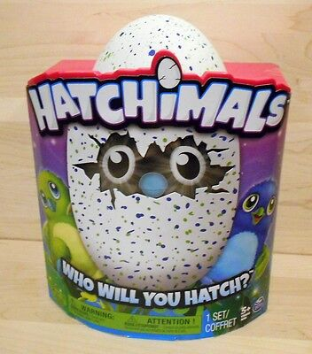 New Hatchimals Hatchable Draggles blue green egg toy in box ready to ship