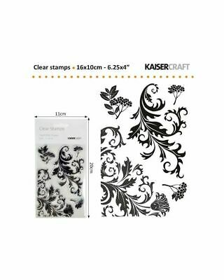 Kaiser Craft Clear Stamp twig & berry