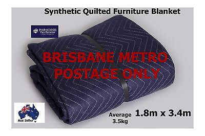 Removalist Furniture Blanket Moving/Storage Synthetic Free/Post Brisbane GSM 570