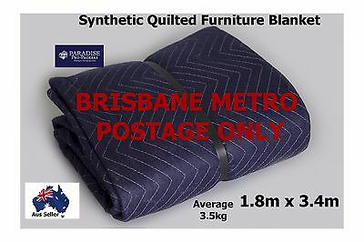 Removalist Furniture Blanket for Moving/Storage Synthetic Free Postage Brisbane