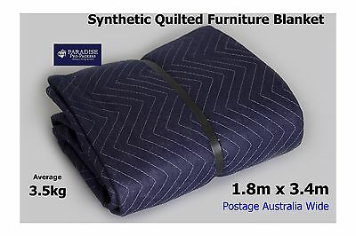 Removalist Furniture Blanket/Pad for Moving  Storage Synthetic Quilted 3.4 x 1.8