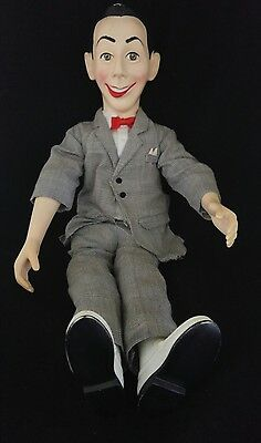 """1987 Matchbox Pee-Wee Herman Posable18"""" Pull String Talking Doll (doesn't work)"""