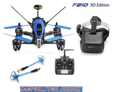 Walkera F210 3D Ready to Fly Racing Drone with Eachine VR007 FPV Goggles
