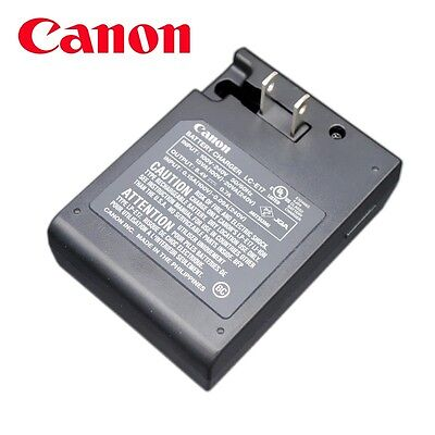 New Genuine Original OEM CANON M5 M3 X8i T6i T6s LP-E17 Battery Charger LC-E17