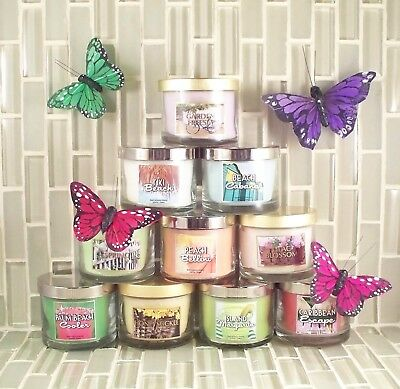 Bath & Body Works Candles MINI Trial size - 1.3 oz