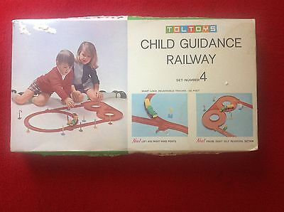 Toltoys, train set, childs guidance toy, set # 4 complete pre metric