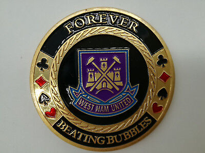 West Ham United Casino Poker Card Guard Cover Protector Texas Poker Cards