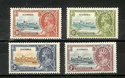 Gambia      George  V    1935      Selection   Mh*