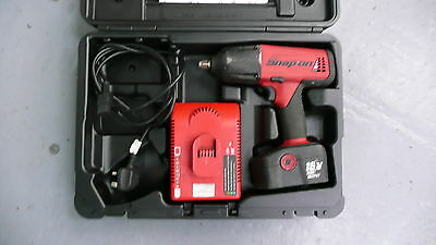 """Snap on Tools Snap-on CT6850 18V 1/2"""" Drive Cordless Impact Wrench + Charger"""