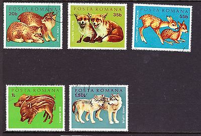 Animal Stamps from Romania