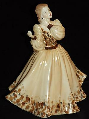 Coalport Bone China Ladies of Fashion Figurine CRYSTAL made in England 1986.