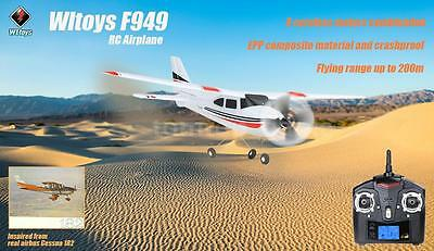 Original Wltoys F949 2.4G 3Ch RC Airplane Fixed Wing Plane Outdoor toys M5B9