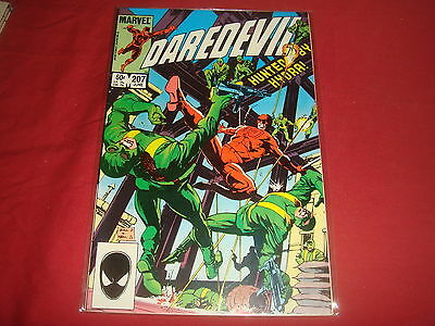 DAREDEVIL #207  Marvel Comics 1984   VF