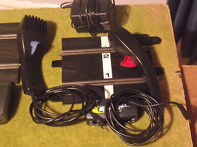 Scalextric power supply and controllers 2