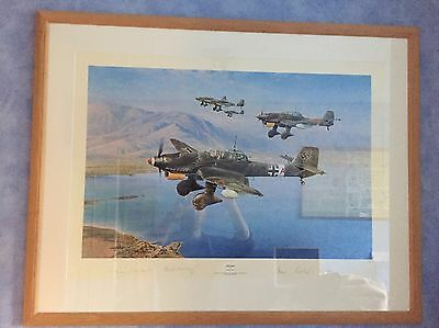 Stuka! by Robert Taylor Limited Edition Framed Fine Art Print