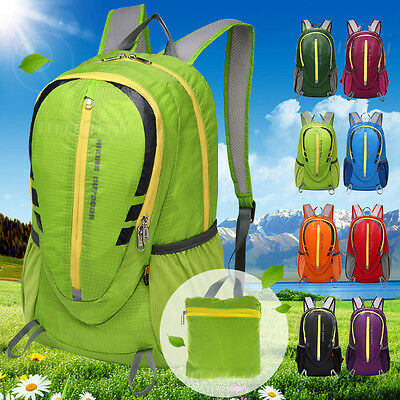 Daysack Bag 30L Rucksack Backpack Foldable Packable - Lightweight