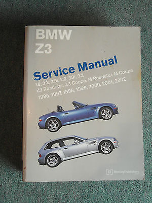 BMW Z3 Workshop Manual Roadster Coupe & M 1996-2002 Bentley 2005