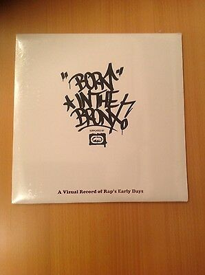 *Very Rare* Born In The Bronx - A Visual Record of Rap's Early Days - Hip Hop