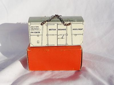 215: Vintage Hornby  O Gauge Boxed BR Insulated Meat Container