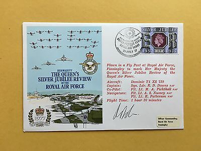 RAF (AD) SERIES FLOWN & SIGNED COVER AD30b FROM COLLECTION