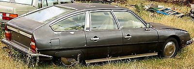 1979 Citroen CX 2400 Pallas - complete car suitable for parts or restoration