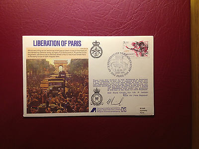 Raf (Rafes Escaping Society) Series Flown Signed Cover Sc34