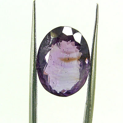 7.30 Ct Natural Oval Loose Purple Amethyst Gemstone Stone - ZS4656