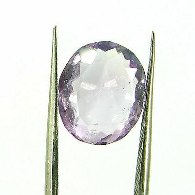 Natural 4.65 Ct Oval Loose Purple Amethyst Gemstone Stone - ZS4577