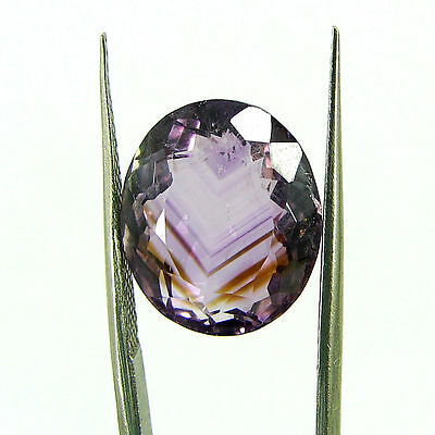 Natural 10.25 Ct Oval Loose Purple Amethyst Gemstone Stone - ZS4563