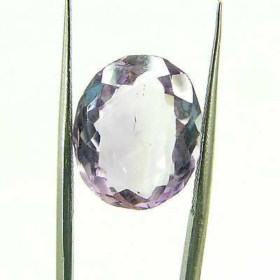 6.25 Ct Natural Oval Loose Purple Amethyst Gemstone Stone - ZS4657
