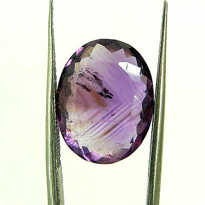 9.20 Ct Natural Oval Loose Purple Amethyst Gemstone Stone - ZS4633
