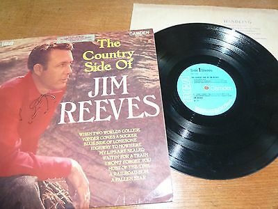 The Country Side Of Jim Reeves inc When Two Worlds Collide + CDS 1000 LP -1962