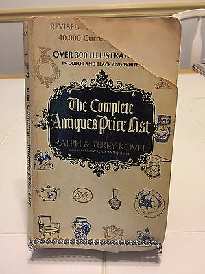 The Complete Antiques Price List 1971 By Ralph & Terry Kovel