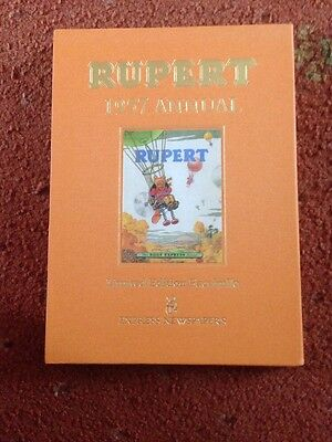 Rupert Bear Annual 1957 Fascimile Collectors Edition With Certificate Mint