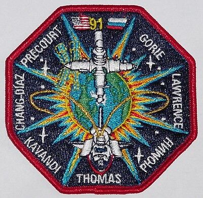 Aufnäher Patch Raumfahrt NASA STS-91 Space Shuttle Discovery .........A3243