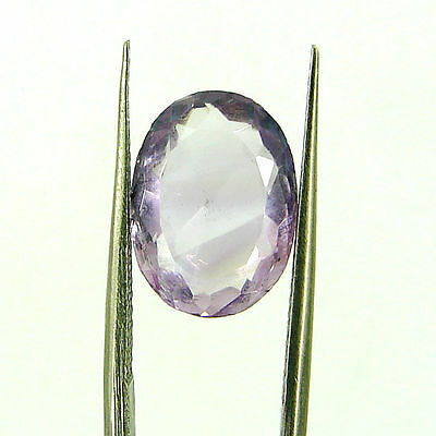 5.30 Ct Natural Oval Loose Purple Amethyst Gemstone Stone - ZS4610