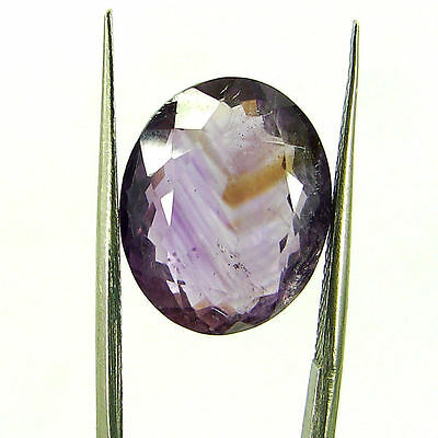 Natural 10.10 Ct Oval Loose Purple Amethyst Gemstone Stone - ZS4571