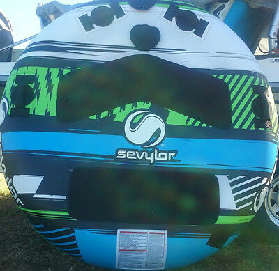 water ski tube clutch NEW huge 2 person latest 60in sevylor