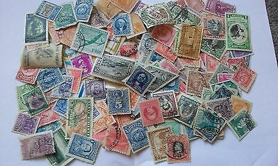 100+ All Different Central & South American Stamps