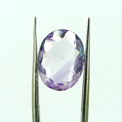 Natural 5.20 Ct Oval Loose Purple Amethyst Gemstone Stone - ZS4566