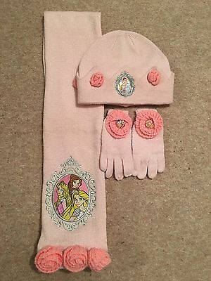 Disney Store Hat Scarf And Gloves Set Age 3-6